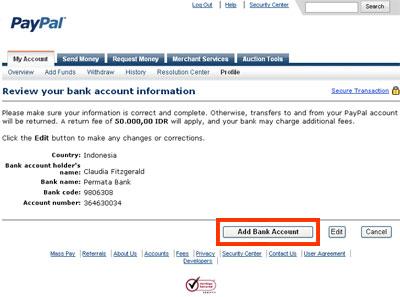 rekening tersebut daftar kode bank 3 klik add bank account